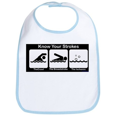 Know Your Strokes Bib