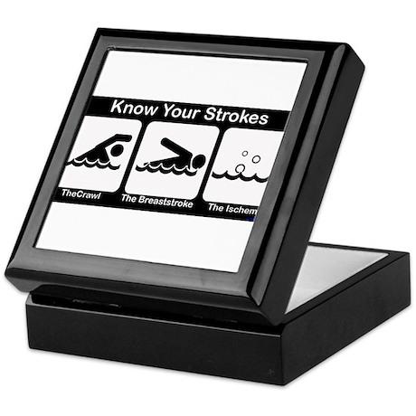 Know Your Strokes Keepsake Box