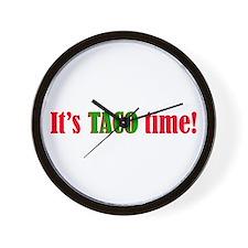 Naco Taco Wall Clock