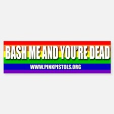 Pink Pistols Bumper sticker