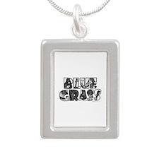 Bluegrass Silver Portrait Necklace