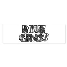 Bluegrass Bumper Sticker