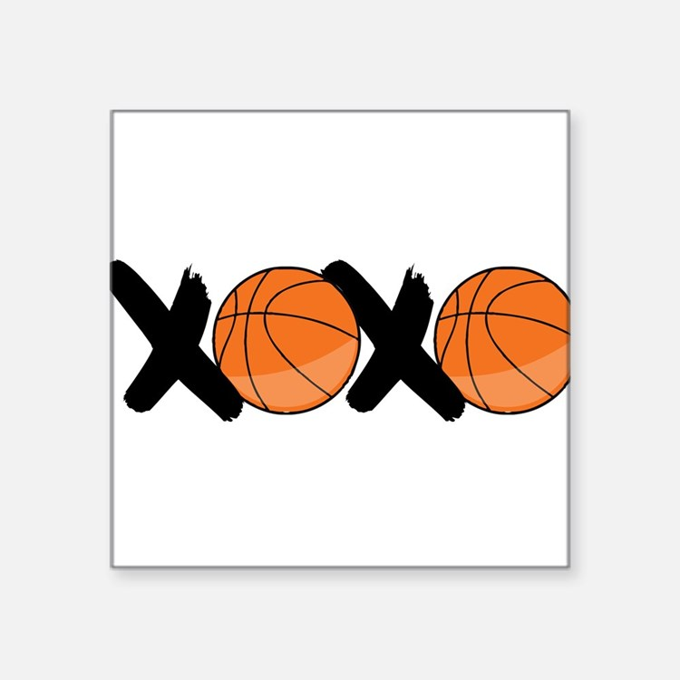 """XOXO Square Sticker 3"""" x 3"""""""