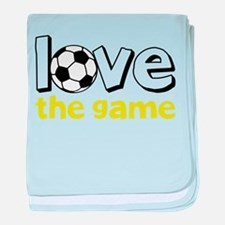 Love The Game baby blanket