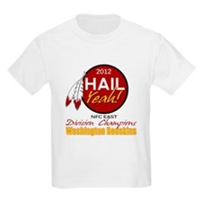 Redskins Hail Yeah NFC East 2012 Champions T-Shirt