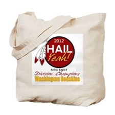 Redskins Hail Yeah NFC East 2012 Champions Tote Ba