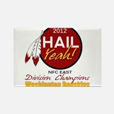 Redskins Hail Yeah NFC East 2012 Champions Rectang