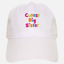 Cutest Big Sister Multicolor Baseball Baseball Cap