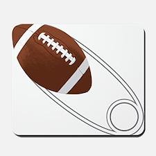 Football Diaper Pin Mousepad
