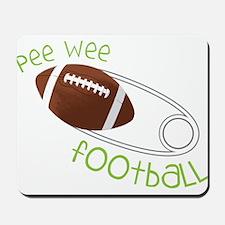 Pee Wee Football Mousepad