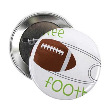 """Pee Wee Football 2.25"""" Button"""