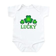 3 Lucky Irish Shamrocks Infant Bodysuit