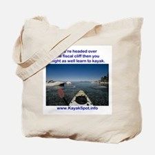 Fiscal Cliff Tote Bag