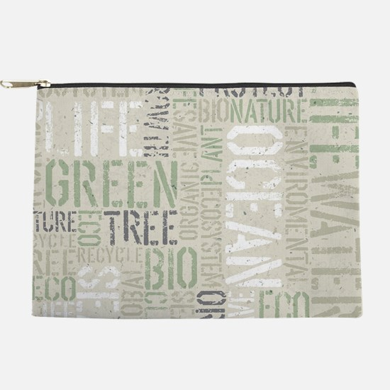 Ecology Words Makeup Pouch