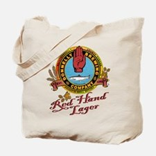 Cute Beer logo Tote Bag