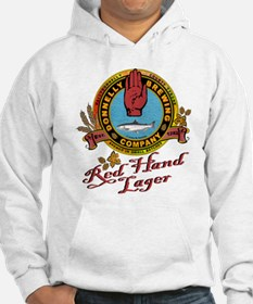 Funny Red hand Hoodie