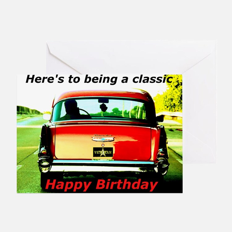 Being Classic Birthday Greeting Card
