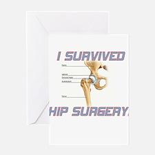 Hip Surgery Greeting Card