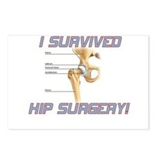 Hip Surgery Postcards (Package of 8)