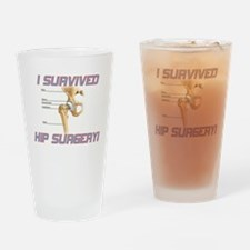 Hip Surgery Drinking Glass