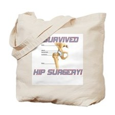 Hip Surgery Tote Bag