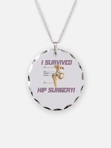 Hip Surgery Necklace