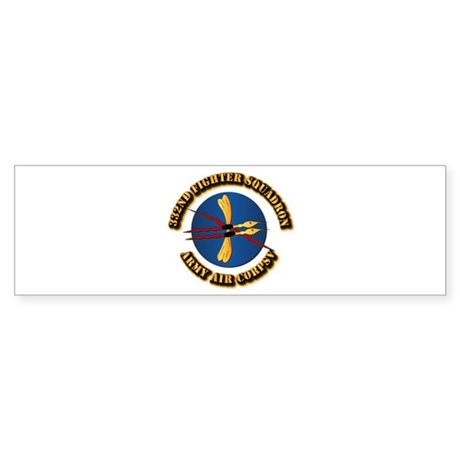 AAC - 332nd Fighter Squadron Sticker (Bumper)
