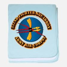 AAC - 332nd Fighter Squadron baby blanket