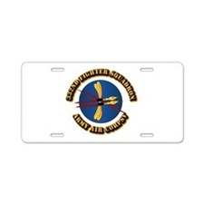 AAC - 332nd Fighter Squadron Aluminum License Plat