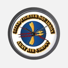 AAC - 332nd Fighter Squadron Wall Clock