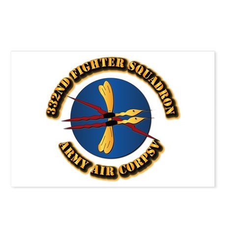 AAC - 332nd Fighter Squadron Postcards (Package of