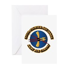 AAC - 332nd Fighter Squadron Greeting Card