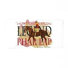 The Legend - Pharlap Aluminum License Plate