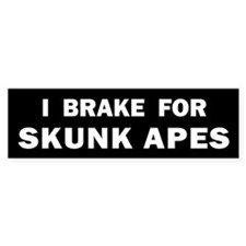 SKUNK1.png Bumper Sticker