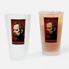 Nietzsche Drinking Glass
