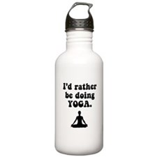 I'd Rather Be Doing Yoga Water Bottle