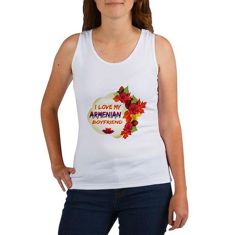 Armenian Boyfriend designs Women's Tank Top