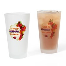 Armenian Boyfriend designs Drinking Glass