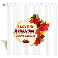 Armenian Boyfriend designs Shower Curtain