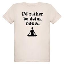 I'd Rather Be Doing Yoga T-Shirt
