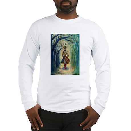 Drummer Girl Long Sleeve T-Shirt