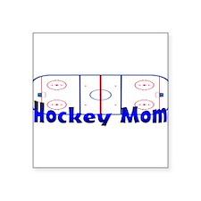 Hockey MOM Oval Sticker