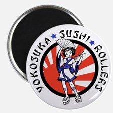 Sushi Rollers Magnet