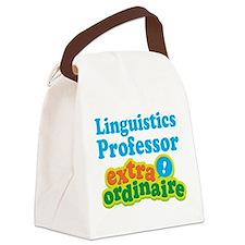 Linguistics Professor Extraordinaire Canvas Lunch