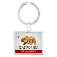 California Landscape Keychain
