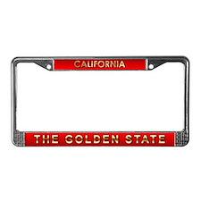 California License Plate Frame