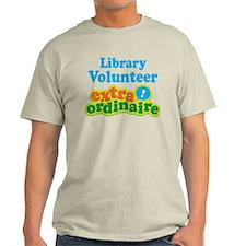 Library Volunteer Extraordinaire T-Shirt