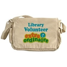 Library Volunteer Extraordinaire Messenger Bag