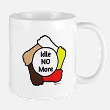 Idle No More - Five Hands Mug