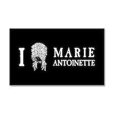 I Love (Wig) Marie Antoinette Car Magnet 20 x 12